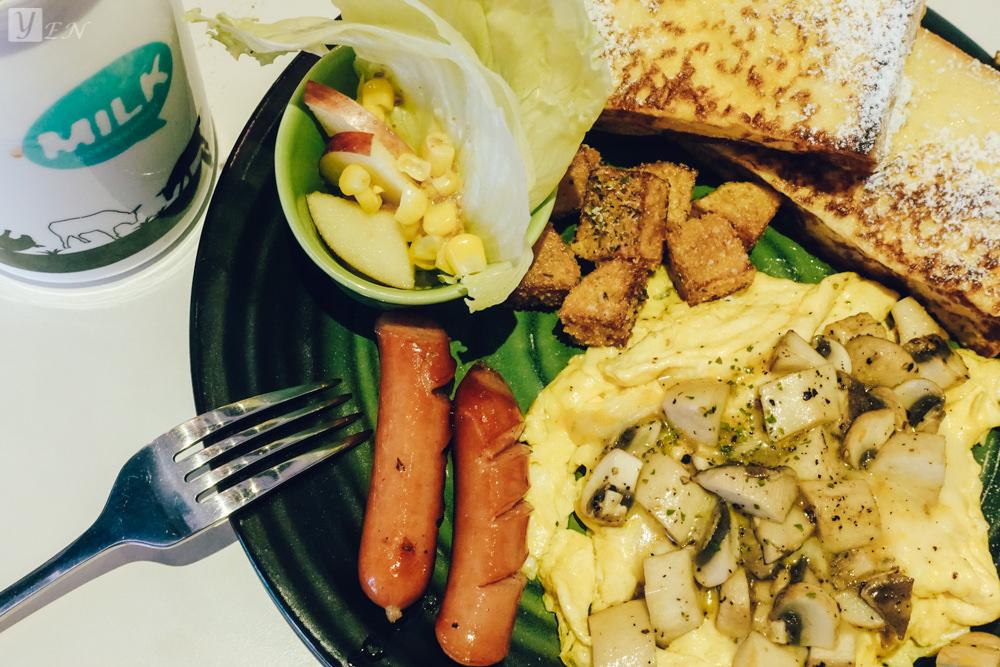 [食記] 台中市北屯區 ‧ 摩奇安娜咖啡、早午餐、下午茶(松竹五路上)愜意喝咖啡,居家早午餐選擇