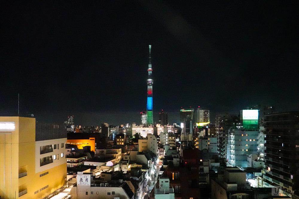 東京淺草紅色星球飯店