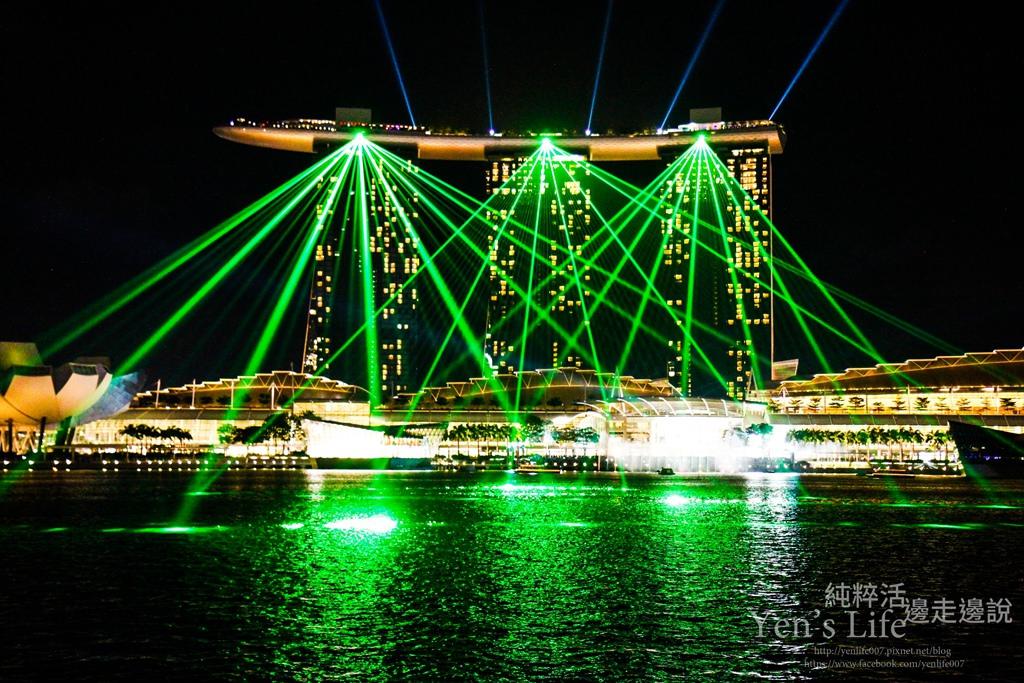 【新加坡旅遊】新加坡自由行Day1:中國城、新加坡河岸、魚尾獅公園、金沙酒店燈光秀、浮爾頓一號