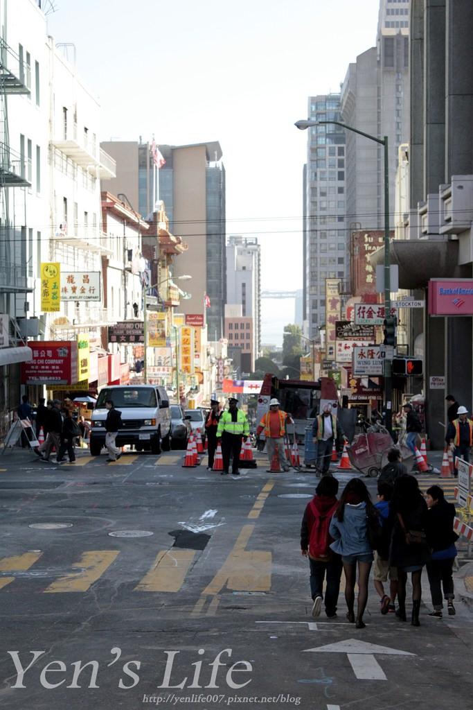 [美國打工旅遊] 美西第三站 多種風情舊金山Day4 中國城/叮噹車博物館/聯合廣場